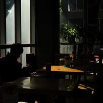 宾馆咖啡茶座