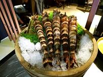 海鲜竹节虾