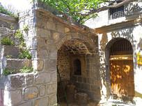 石头房子老建筑图片
