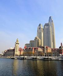 滨海城市建筑风光
