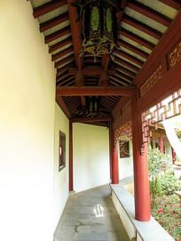园林风光楼亭长廊古建筑