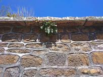 石头堆砌的房屋