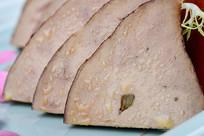 菜品鹅肝细节