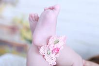 粉色小脚丫