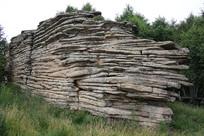 克什克腾石林岩石石