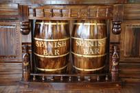 木质啤酒木桶