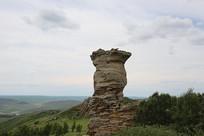 内蒙古的石林奇观