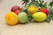 新鲜小西红柿