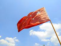 红色的国旗