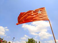飘扬的国旗