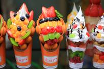 水果冰激凌