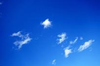 蓝天白云景观