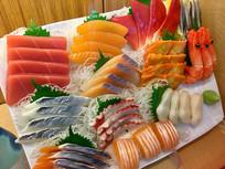 日式鱼生刺身拼盘