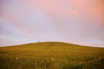 乌兰布统五彩山