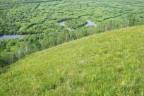 根河湿地生态风光