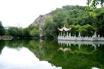 红山公园水景