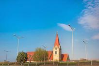 青岛基督教堂建筑摄影