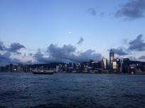 香港中环夜景