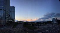 香港中环天空