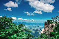 九华山山峰