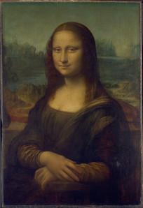 欧式油画蒙娜丽莎