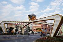 广州番禺大罗塘首饰集聚区街景