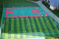 足球场和篮球场