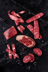 各部位的牛肉
