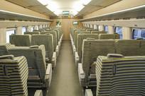 宽敞的高铁列车