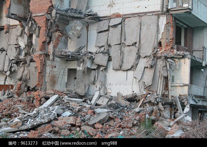 拆迁工地废墟大楼图片