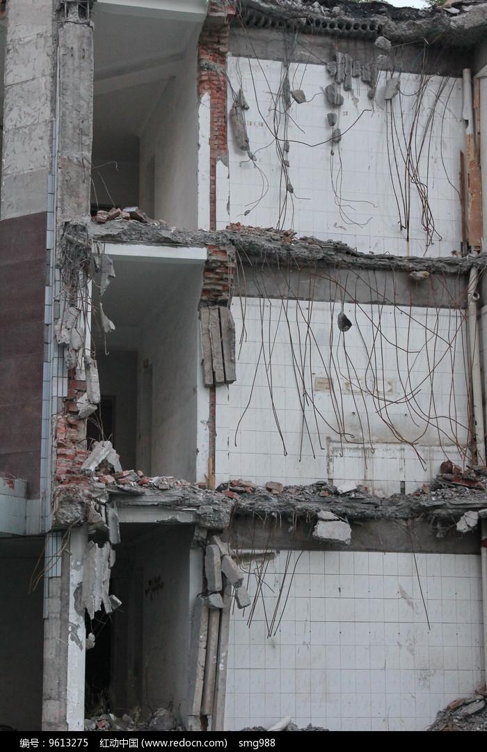 废弃的的大楼图片