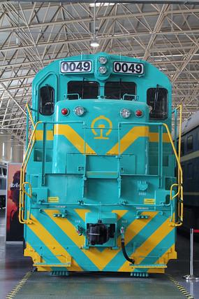 老式电气火车头