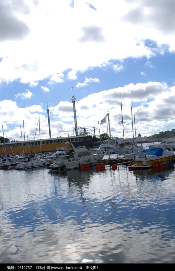 斯德哥尔摩游艇图片