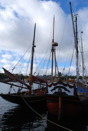 斯德哥尔摩游艇靠岸