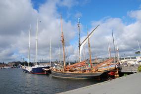 斯德哥尔摩游艇桅杆