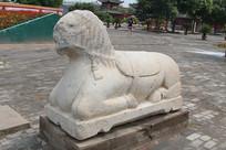 应县木塔石雕狮子
