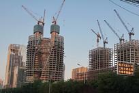 在建的丽泽SOHO大厦