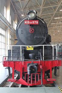 早期KD蒸汽火车车头