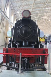 窄轨蒸汽小火车的车头