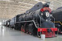 朱德号蒸汽火车