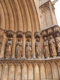 欧洲建筑雕刻