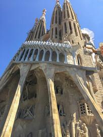 欧式建筑雕塑景观