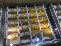 黄金首饰展示