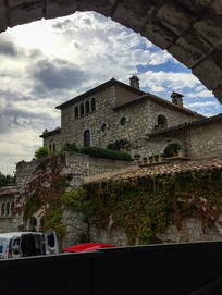 老城堡天空