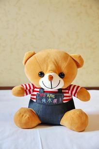 毛绒玩具可爱的小熊