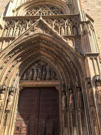 信仰教堂雕塑