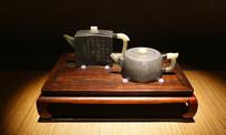 红珊馆环竹壶与潘大和井栏壶