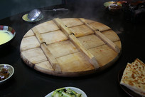 农家铁锅灶台