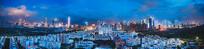 开阔的深圳城市夜景