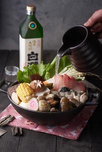 美味的海鲜煲